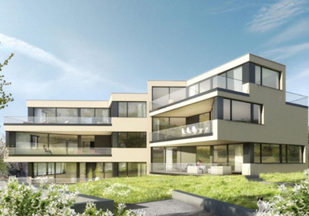 Wohnbauten - MFH Chapfstrasse - 1