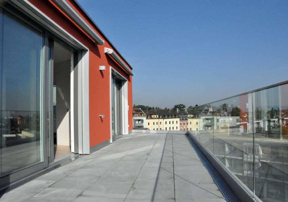 Wohnzimmer Balkon Bautreuhand Wohnbauten Bauvision Wanner