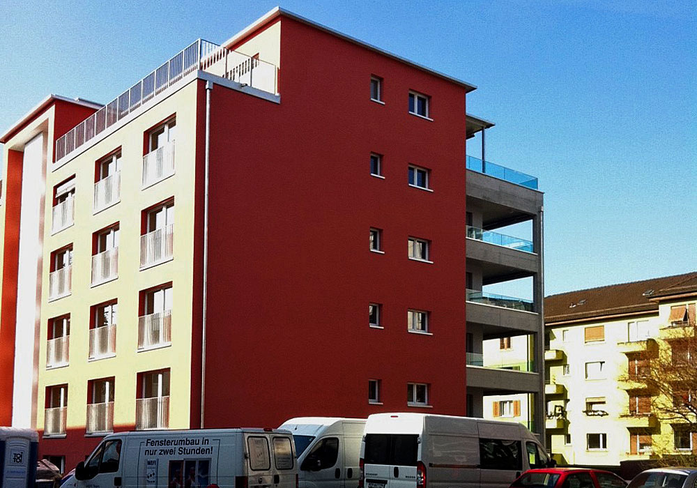 Neubau Mehrfamilienhaus Zuerich - 3