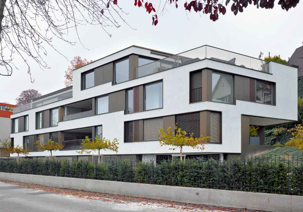 wirtschaftlich Bauen Wohnen Eigenheim Zuerich Siedlungsbau - 1