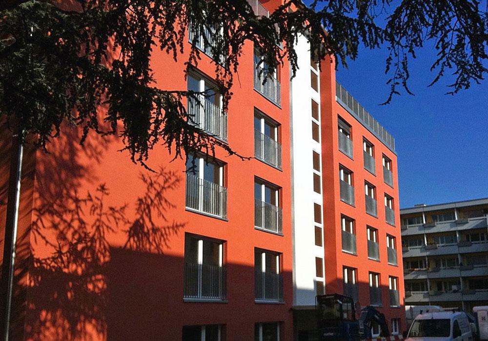 Neubau Mehrfamilienhaus Zuerich