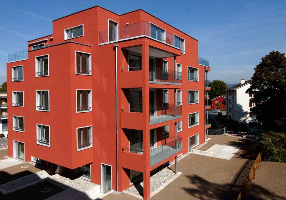 Attikawohnung Parkettboden Kuechenbau Panoramafenster Hausrealisierung Baubegleiter