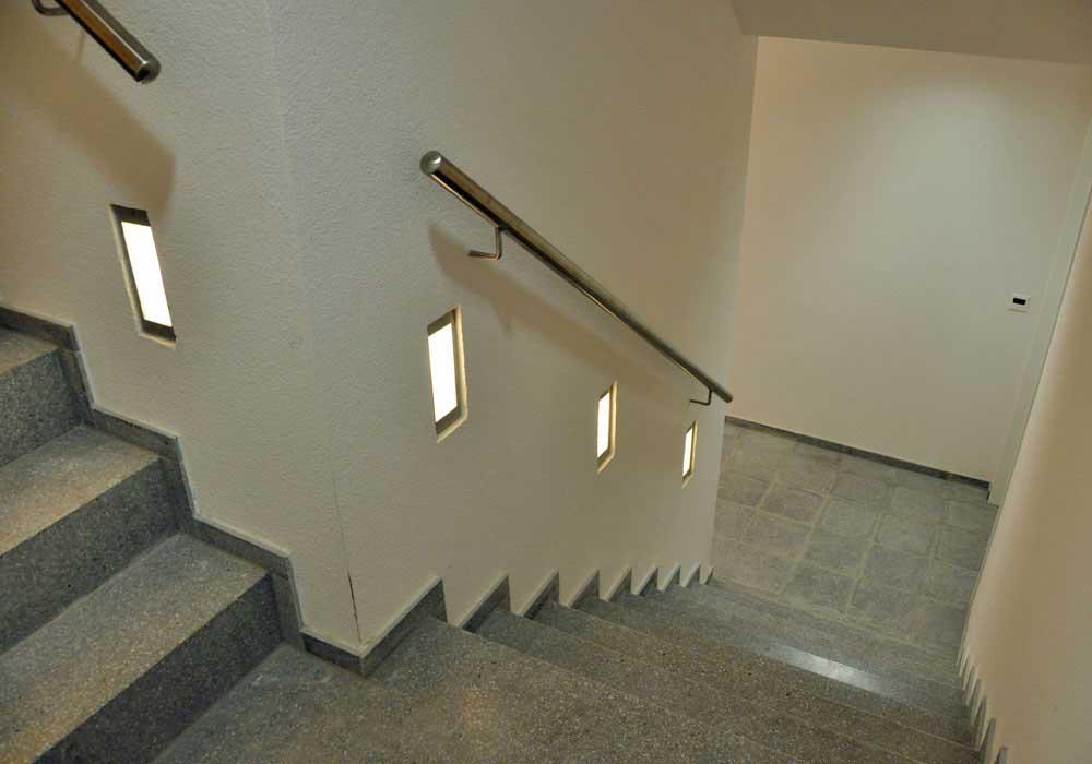 Treppe Projekt Bauobjekt Baukostenrechnung Bauplanung Planungsteam Baupartner