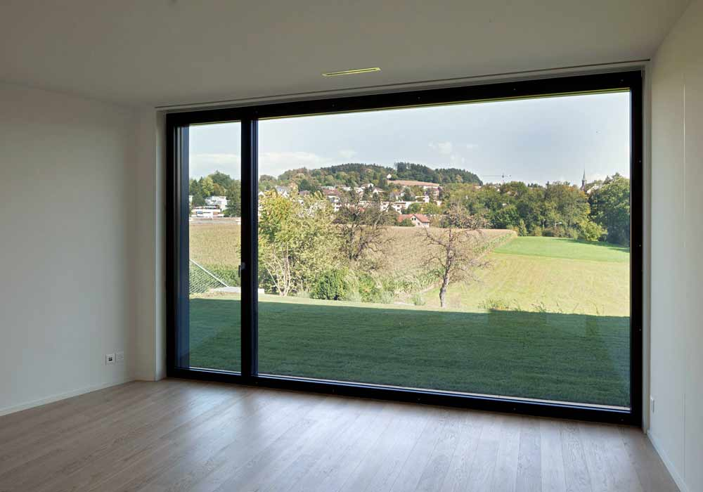 Panoramafenster Bauherrenberatung Totalunternehmer