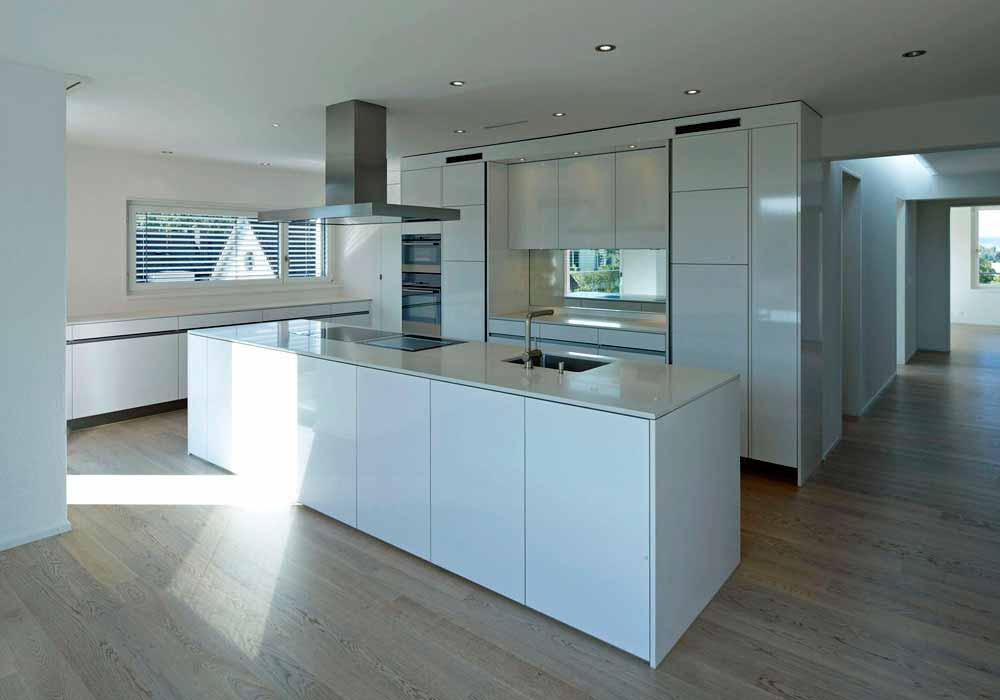 Kochinsel Eigenheim Projektrealisierung Bauexperte