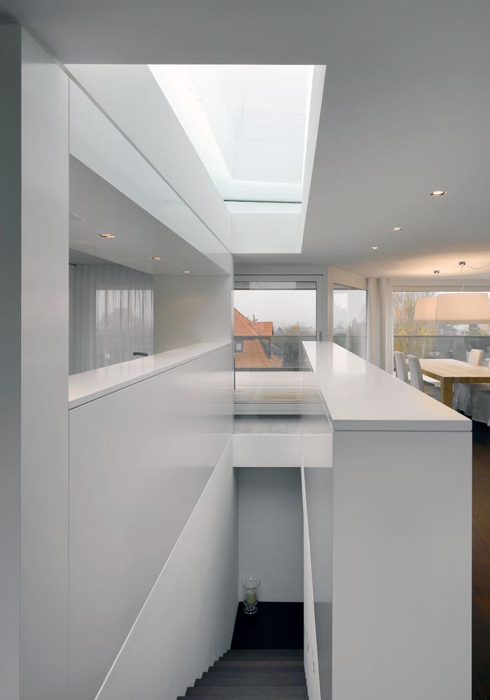 Deckenbeleuchtung modernes Wohnen Luxuswohnung HighClass Attikawohnung Bauerneuerung - 1