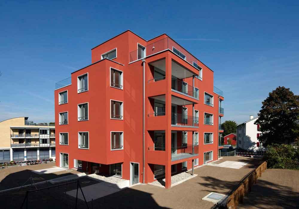 Neubau Generalunternehmung Zuerich Terrasse