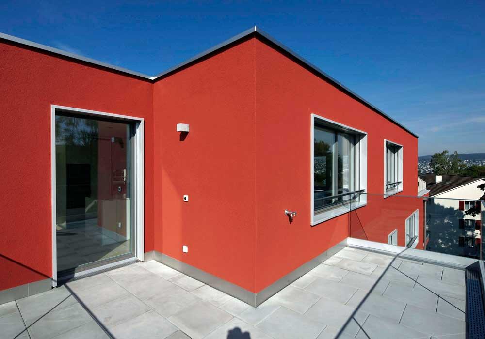 Balkon Attika Neubau Zuerich